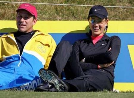 高尔夫美女魏圣美参加卡西欧世界公开赛