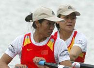 世界杯赛艇女子双人双桨夺金