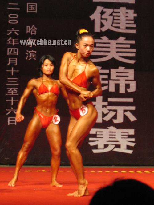 韩国女子健美 欧美女子健美