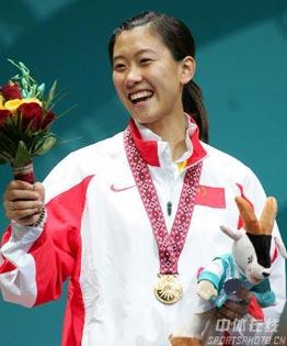 [组图]-谭雪获得多哈亚运会女子个人佩剑金牌