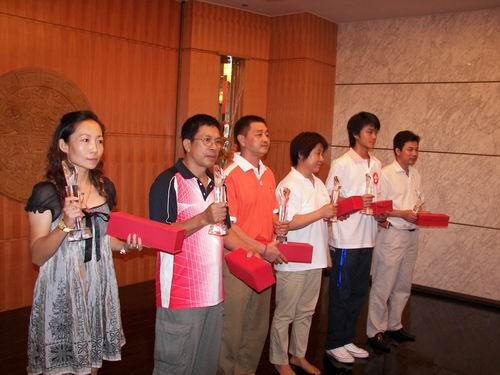 上海 于红立/第22届全国花样轮滑锦标赛落幕举行闭幕仪式(于红立摄)