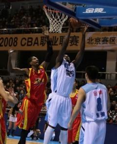 CBA联赛第10轮 北京金隅vs浙江广夏