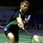 丹麦羽球队备战中国赛