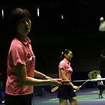 朱琳天河体育馆积极备战