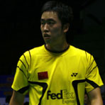 陈郁备战中国羽球赛