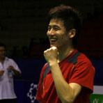 蔡�S备战中国羽球赛