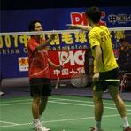 中国羽球赛资格赛赛况