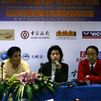 中国羽球公开赛新闻会