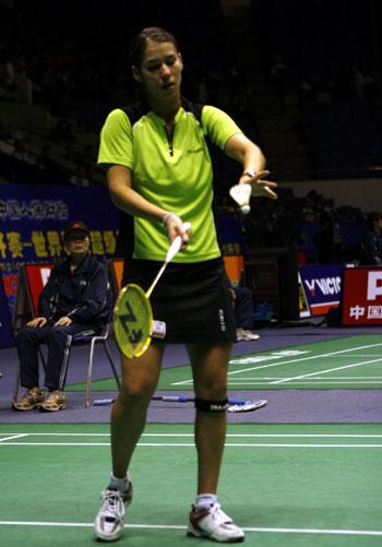 中国羽毛球公开赛 朱琳逆转晋级第二轮