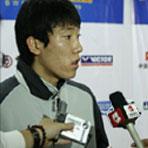 朴成奂赛后接受媒体采访