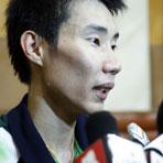李宗伟赛后接受媒体采访