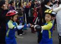 宜宾米高轮滑万众长跑
