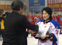 Women's ice hockey team in Harbin win first
