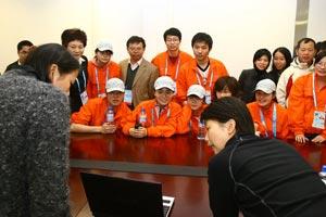 香港奥马委马术志愿者来京观摩 学习助残技能