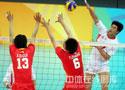 [视频]-上海男排3比1胜辽宁队 赛后新闻发布会
