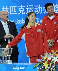 奥运篮球分组:中美男女篮均同组