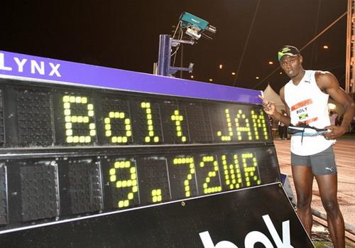 【信息】超越极限震惊世界 博尔特9秒72破100米世界纪录 - 名将之约 - 名将之约的体育(田径)教练博客