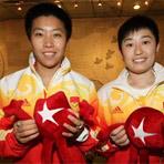 [组图]奥运羽毛球女双冠军 做客华奥星空演播室