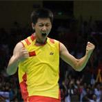 [组图]北京奥运会羽毛球男单决赛 陈金获得铜牌