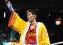 [组图]男子拳击54公斤级1/16比赛 谷雨获胜晋级
