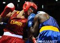 [组图]哈那提•斯拉木晋级拳击69公斤级八强