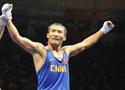 [组图]-中国选手哈那提•斯拉木晋级拳击四强