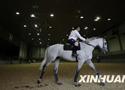 [组图]-北京奥运会参赛马术选手在香港热身备战