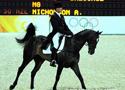 [组图]-香港奥运马术比赛三项赛之盛装舞步