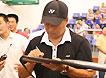 [组图]-国羽总教头李永波为常州百校羽球赛颁奖