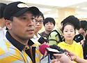 [图文]-李永波出席中羽公开赛发布会 媒体焦点