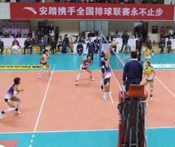 [视频]-2008全国排球联赛 四川女排0:3江苏女排