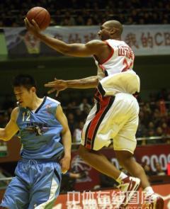 CBA联赛 山东黄金116:89北京金隅