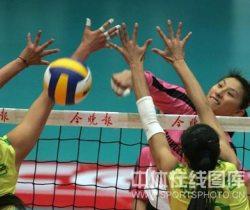 [视频]-全国女排联赛第六轮 天津队3-0胜江苏队