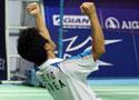 [组图]中国羽毛球公开赛 郑在成李龙大男双夺冠