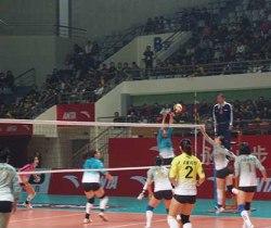[视频]-08/09全国女子排球联赛 上海3:1胜山东