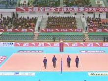 [视频]-08/09全国女子排球联赛 四川3-0胜河北