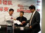 中国飞镖队出征世锦赛
