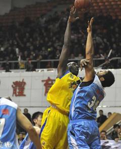 08/09赛季CBA联赛 江苏102:107北京