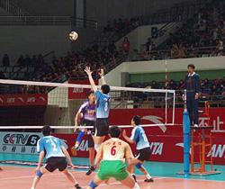 [视频]-2008全国男排联赛 上海主场不敌四川