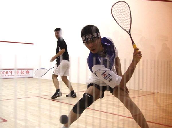 [组图]--全国壁球锦标赛 沪小将孟潇�F夺得亚军