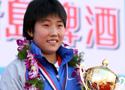 [组图]-厦门马拉松女子组 中国小将陈荣夺冠军