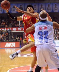 CBA第27轮 北京胜八一广东逆转山西