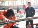 [组图]大年初二带弟子训练 孙海平遥祝刘翔归来