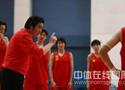 女篮公开训练课