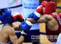 [组图]-11运会拳击男子预赛 张小平11比2胜陈巍