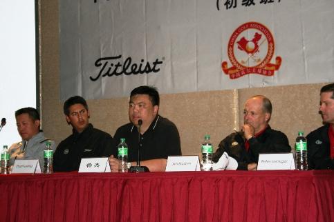 高尔夫球职业教练员人才培养和培训体系的建立是我国高尔夫运动