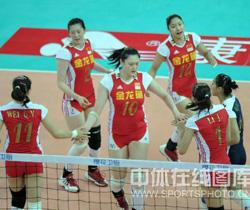 [视频]-09年女排精英赛昆山站 中国3-0胜土耳其
