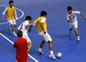 [组图]室内五人制锦标赛一触即发 中国适应训练