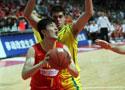 热身赛中国84-76澳洲