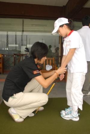 09汇丰全国青少年高尔夫夏令营上海站 高尔夫青少年发展计